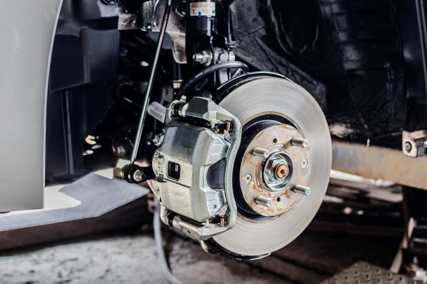 Brake Repair Image Engine Diagnostics Total Fleet Solutions Ltd